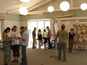NLP Gruppenarbeit i. Raum 1