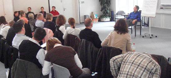 NLP Practitioner Lehrgang mit Teilnehmern für die Ausbildung