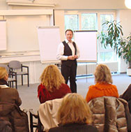 Bernhard Tille im NLP-Seminar